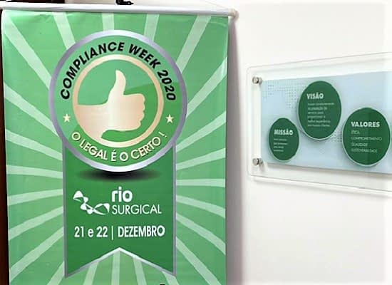 COMPLIANCE WEEK RIO SURGICAL 2020!